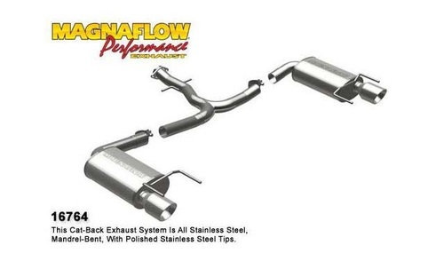 IS250 - [Magnaflow] Cat-back System